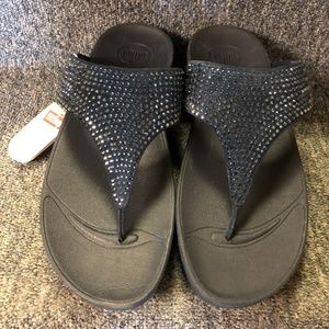 3aec986234c8 Fitflop Shoes - FitFlop Women s Flare Thong Sandal- NIB- Navy